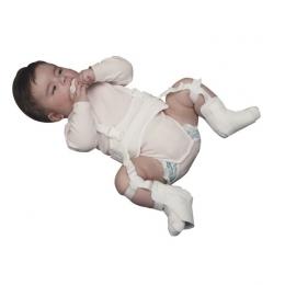 Ortesis para mantener caderas en abducción y rotación externa mediante arnés con tirantes (Arnés de...