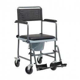 Silla de ruedas manual no autopropulsable no plegable (rígida)