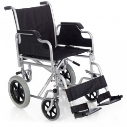 Silla de ruedas manual no autopropulsable plegable