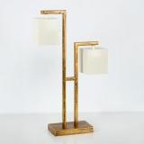 LAMPARA S/MESA DOBLE LUZ
