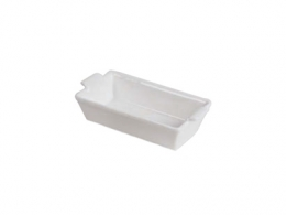 RUSTIDERA MINI RECTANGULAR 13X6,5 BLANCA
