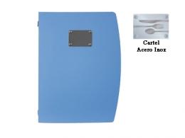 CARTA MENU AZUL A4 25X34 CM
