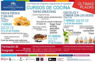 Patrocinio Cursos de Cocina Escuela Superior de Hosteleria y Turismo
