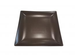MING CHOCOLATE-PLATO LLANO 26X26 CM MATE