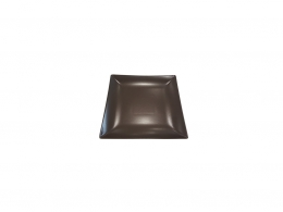 MING CHOCOLATE-PLATO PAN 16X16 CM MATE