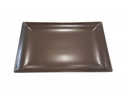 MING CHOCOLATE-FUENTE 30X20 CM RECTANGULAR MATE