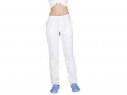 PANTALON MEDIA GOMA BLANCO