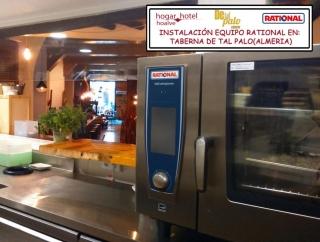 Instalación Equipo Rational en Taberna De Tal Palo