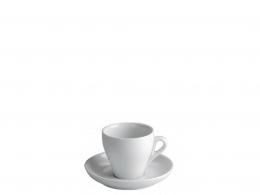 CÓNICA-TAZA CAFE 0,08 L CONICA CON PLATO