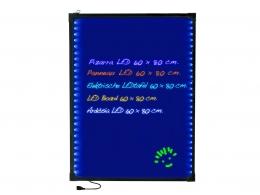 PIZARRA ELECTRICA LED 60X80 CM