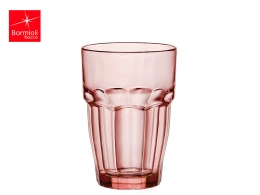 ROCK BAR-VASO REFRESCO 0,37 L AMBAR APILABLE