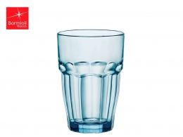 ROCK BAR-VASO REFRESCO 0,37 L AZUL ICE APILABLE