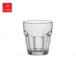 ROCK BAR-VASO AGUA 0,27 L TRANSPARENTE APILABLE