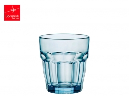 ROCK BAR-VASO AGUA 0,27 L AZUL ICE APILABLE