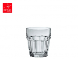 ROCK BAR-VASO AGUA 0,20 L TRANSPARENTE APILABLE