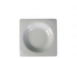 GLUBEL SQUARE-PLATO HONDO 22X22 INTERIOR REDONDO