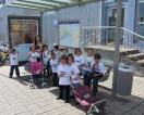 Los alumnos de 5º de Infantil visitan las instalaciones de Guaguas Municipales en Las Palmas de Gran Canaria