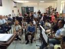 Ensayo con la Banda Municipal de Telde