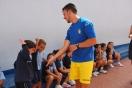 Jugadores de la UD Las Palmas nos visitan en Marzagán