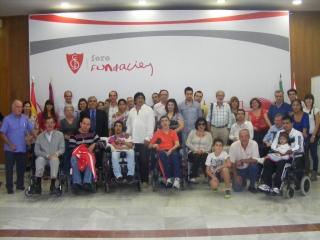 VISITA AL ESTADIO DEL SEVILLA FC PARA PACIENTES CON DAÑO CEREBRAL