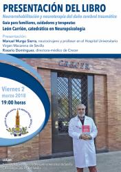 León Carrión presenta su libro Neurorrehabilitación y Neuroterapia del Daño Cerebral Traumático