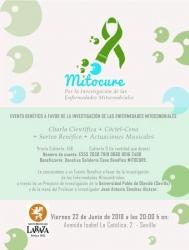 """Cena Benéfica """"MitoCure"""" por la investigación en Enfermedades Mitocondriales"""