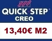 Tarima Quick step Creo AC4
