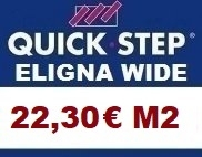 Tarima Quick step Eligna Wide AC4