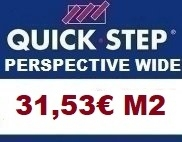 Tarima Quick step Perspective Wide AC4