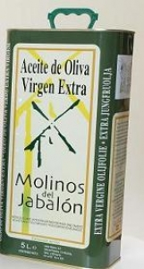 MOLINOS DEL JABALÓN LATA 5 L. CAJA DE 4 UNIDADES