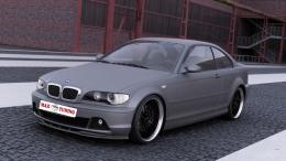 SPOILER BMW E46 COUPE
