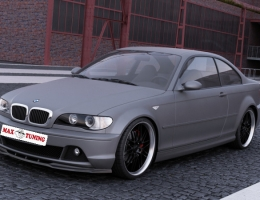 SPOILER BMW E46 COUPE