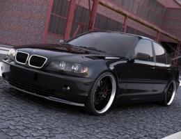 SPOILER BMW E46 SEDAN