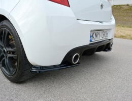 SPLITTERS TRASEROS CLIO 3 RS 2009-