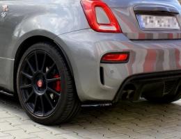 SPLITTERS TRASEROS FIAT 500 ABARTH 2016