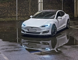 DIFUSORES LATERALES TESLA S 2016