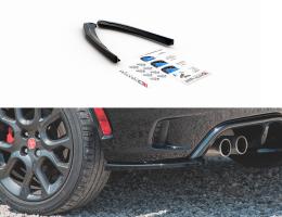 SPLITTERS TRASEROS Fiat 124 Spider Abarth 2017