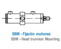CILINDRO ISO 3320 - FIJACION MUÑONES - SBM