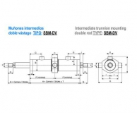 ISO 3320 DOBLE VASTAGO - MUÑONES INTERMEDIOS - SBM/DV