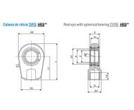 ISO 3320 ACCESORIOS : CABEZA DE ROTULA - HRS