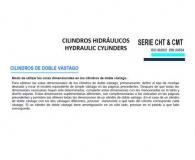 CILINDRO HIDRAULICO ISO 6020 2  DOBLE VASTAGO