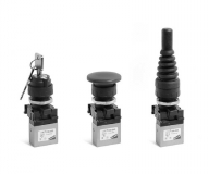 Distribuidores Mini Mando manual Panel M5-Ø4