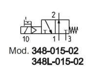 Mod. 348-015-02 Camozzi