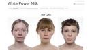 White Power Milk: Leche escupida, envasada y virginal