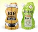 Cócteles en bolsa resellable y eco-amigable