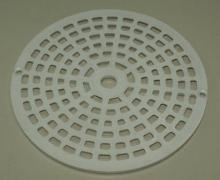 Rejilla fondo circular