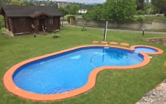 PISCINA HORMIGON FORMA PIE