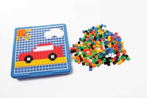mosaico, mosaico cuadrado, mosaico infantil