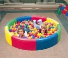 piscina de bolas, piscina redonda  bolas, piscina sensorial redonda bolas