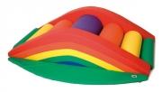 figura foam, puente arco iris, puente foam, puente psicomotricidad